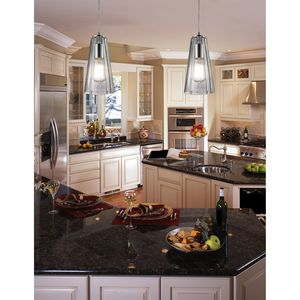 Menlow Park 1 Light Pendant In Polished Chrome by Elk Lighting