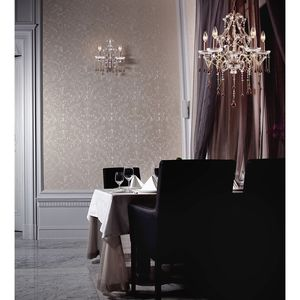 5 Light Chandelier In Antique White And Rose Crystal by Elk Lighting