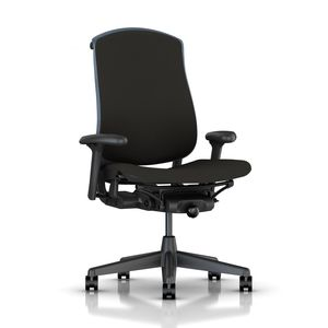 Celle Chair in Black Fabric - by Herman Miller