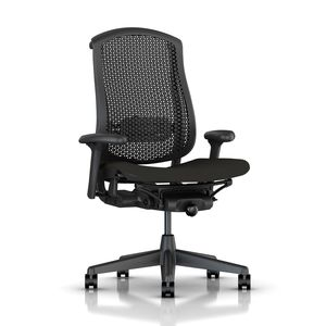 Celle Chair in Black Mesh - by Herman Miller