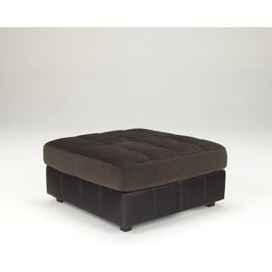Hobokin Oversized Accent Ottoman - Chocolate by Ashley Furniture