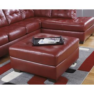 Alliston DB Oversize Accent Ottoman - Salsa by Ashley Furniture