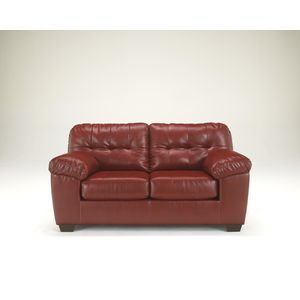 Alliston DB Loveseat - Salsa by Ashley Furniture