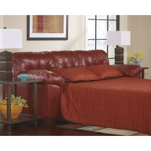 Alliston DB Queen Sofa Sleeper - Salsa by Ashley Furniture