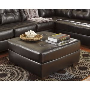 Alliston DB Oversize Accent Ottoman - Chocolate by Ashley Furniture