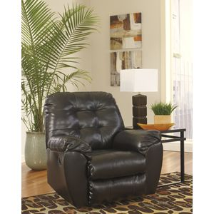 Alliston DB Rocker Recliner - Chocolate by Ashley Furniture