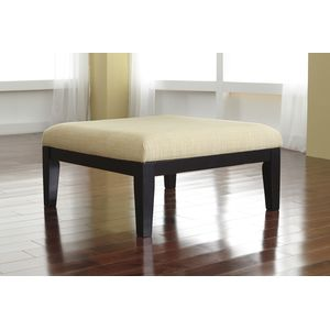 Chamberly Oversized Accent Ottoman - Alloy by Ashley Furniture