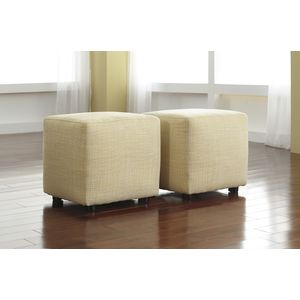 Chamberly Cube Ottoman (2/CN) -  - 2/CN by Ashley Furniture