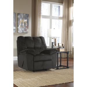 Julson Rocker Recliner - Ebony by Ashley Furniture