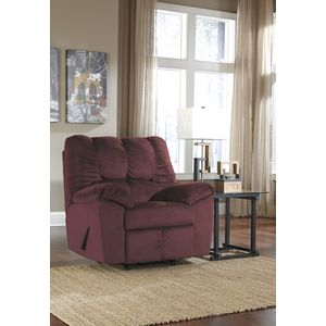 Julson Rocker Recliner - Burgundy by Ashley Furniture