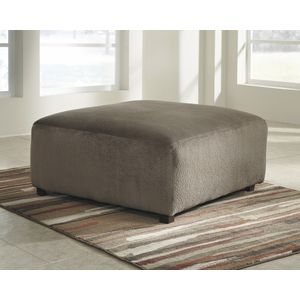 Jessa Place Oversized Accent Ottoman - Dune by Ashley Furniture