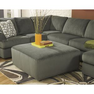 Jessa Place Oversized Accent Ottoman - Pewter by Ashley Furniture