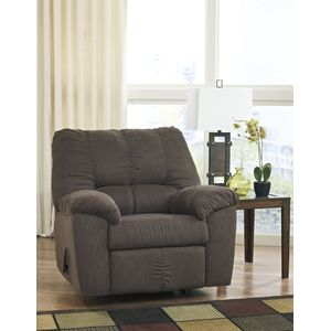 Zyler Rocker Recliner - Coffee by Ashley Furniture