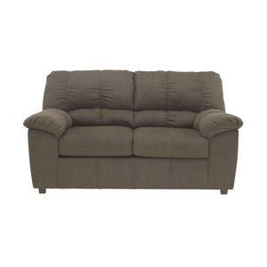 Zyler Loveseat - Coffee by Ashley Furniture
