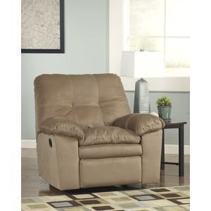 Mercer Rocker Recliner - Mocha by Ashley Furniture