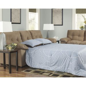 Mercer Full Sofa Sleeper - Mocha by Ashley Furniture