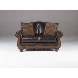Barcelona Loveseat - Antique by Ashley Furniture