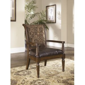 Barcelone Showood Accent Chair - Antique by Ashley Furniture