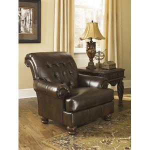 Fresco DuraBlend Accent Chair - Antique by Ashley Furniture