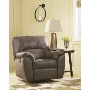 Amazon Rocker Recliner - Walnut by Ashley Furniture