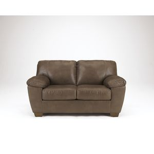 Amazon Loveseat - Walnut by Ashley Furniture