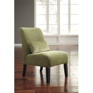 Annora Accent Chair - Green by Ashley Furniture