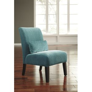 Annora Accent Chair - Teal by Ashley Furniture