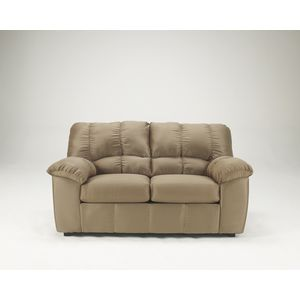 Dominator Loveseat - Mocha by Ashley Furniture