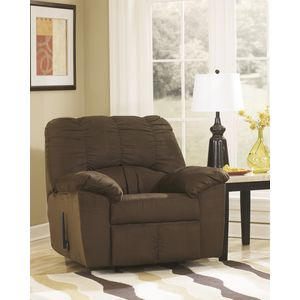 Dominator Rocker Recliner - Cafe by Ashley Furniture