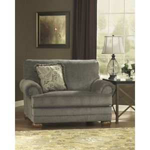 Parcal Estates Chair and a Half - Basil by Ashley Furniture