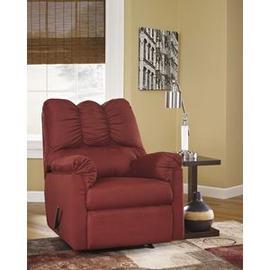 Darcy Rocker Recliner - Salsa by Ashley Furniture