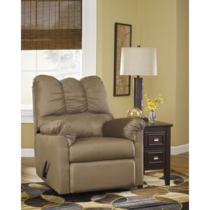 Darcy Rocker Recliner - Mocha by Ashley Furniture