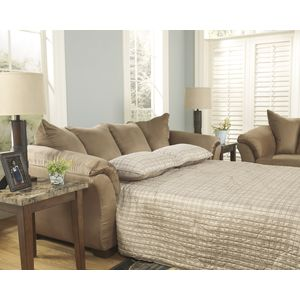 Darcy Full Sofa Sleeper - Mocha by Ashley Furniture