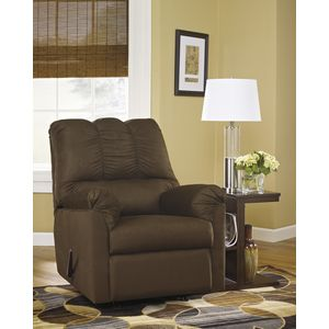 Darcy Rocker Recliner - Cafe by Ashley Furniture