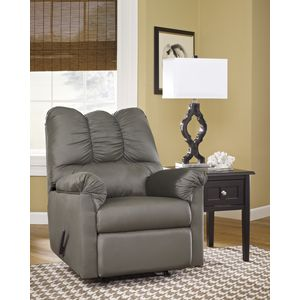 Darcy Rocker Recliner - Cobblestone by Ashley Furniture