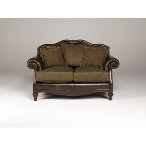 Claremore Loveseat - Antique by Ashley Furniture