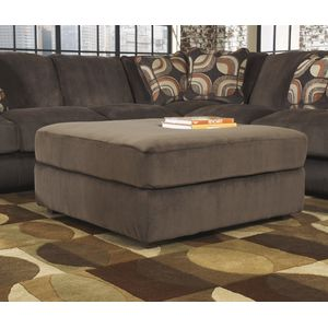 Truscotti Oversized Accent Ottoman - Café by Ashley Furniture