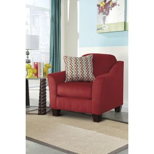 Hannin Chair - Spice by Ashley Furniture