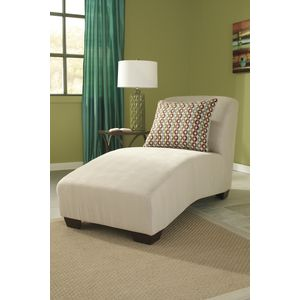 Hannin Chaise - Stone by Ashley Furniture