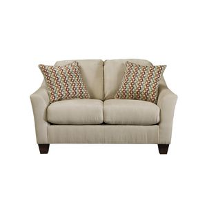 Hannin Loveseat - Stone by Ashley Furniture