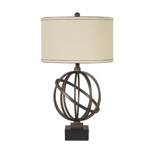 Shadell Metal Table Lamp by Ashley Furniture
