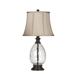 Olivia Glass Table Lamp by Ashley Furniture