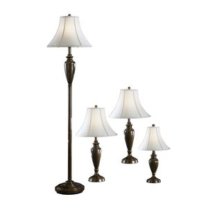 Caron Metal Lamps by Ashley Furniture