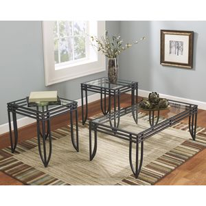 Exeter Occastional Table Set by Ashley Furniture