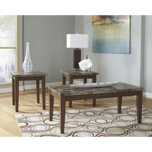 Theo Occasional Table Set by Ashley Furniture