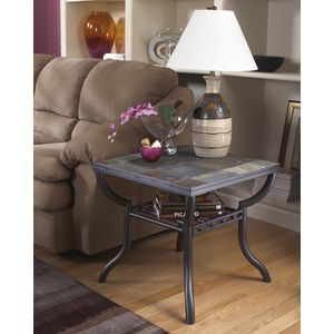Antigo Square End Table by Ashley Furniture