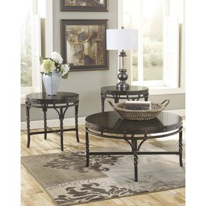 Brindleton Occasional Table Set by Ashley Furniture