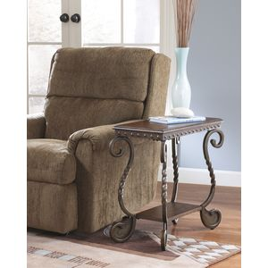 Rafferty Chair Side End Table by Ashley Furniture