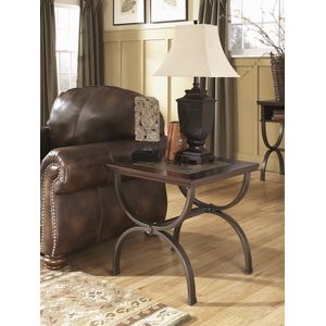 Zander Square End Table by Ashley Furniture