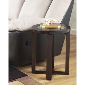 Marion Round End Table by Ashley Furniture